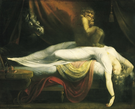 Fuseli, The Nightmare. Wikipedia